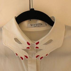VIVETTA white blouse